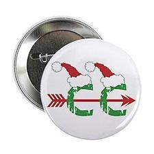 "Cross Country Christmas 2.25"" Button (10 pk)"