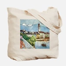 Ascona on Lake Maggiore Switzerland Tote Bag