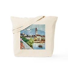 Ascona on Lake Maggiore Switzerland Tote Bag