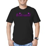 Bridesmaid Simply Love Men's Fitted T-Shirt (dark)