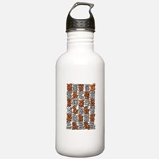 Morse Code A to Z Water Bottle
