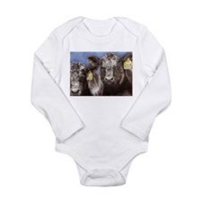 Brothers Angus Bull Calf Long Sleeve Infant Bodysu