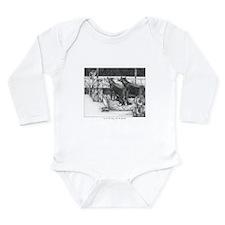 One for the money Long Sleeve Infant Bodysuit