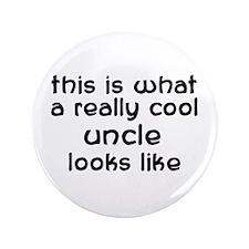 "Cool Uncle 3.5"" Button"