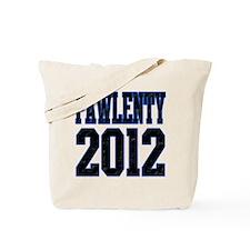 Pawlenty 2012 Tote Bag