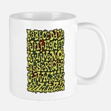 Letters A to Z Mug