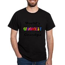 World's Grooviest Grandpa T-Shirt
