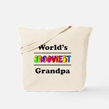 World's Grooviest Grandpa Tote Bag
