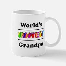 World's Grooviest Grandpa Mug