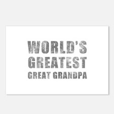 World's Greatest Great Grandpa (Grunge) Postcards