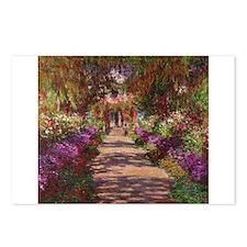 Cute Monet Postcards (Package of 8)