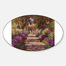 Unique Impressionist Sticker (Oval)