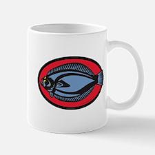 Graphic Flounder Mug
