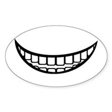 Smile mouth Decal