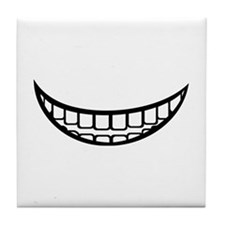 Smile mouth Tile Coaster