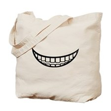 Smile mouth Tote Bag