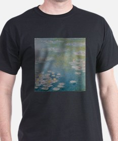 Nympheas at Giverny, 1908 by Claude Monet T-Shirt