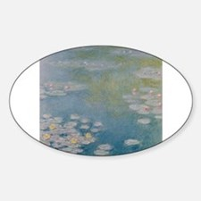 Cool Water lilies Decal