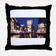 Classic New York City Throw Pillow