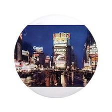 "Classic New York City 3.5"" Button"