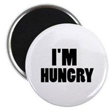 "I'm hungry 2.25"" Magnet (100 pack)"