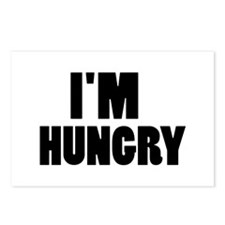 I'm hungry Postcards (Package of 8)