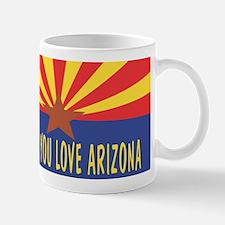 Honk If You Love Arizona Mug