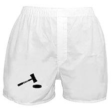 Judge hammer Boxer Shorts