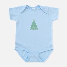 Binary Merry Christmas Body Suit