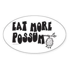 Eat More Possum Bumper Stickers