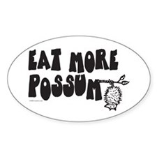Eat More Possum Decal
