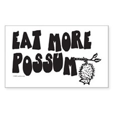 Eat More Possum Decal