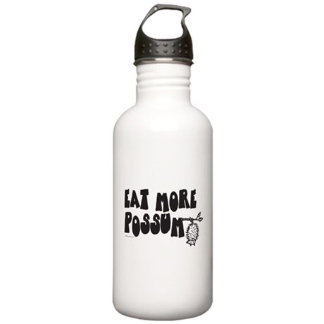 Eat More Possum Stainless Water Bottle 1.0L