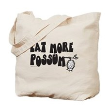 Eat More Possum Tote Bag