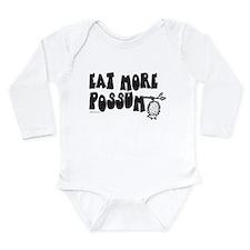 Eat More Possum Long Sleeve Infant Bodysuit