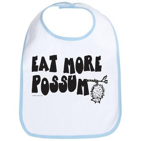 Eat More Possum Bib