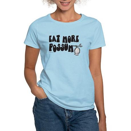 Eat More Possum Women's Light T-Shirt