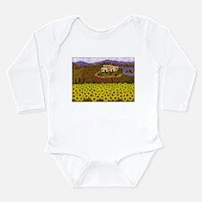 Cute Villas Long Sleeve Infant Bodysuit