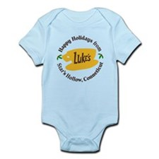 Funny Oy with the poodles Infant Bodysuit