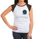 BMX Born to ride Women's Cap Sleeve T-Shirt