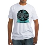 BMX Born to ride Fitted T-Shirt
