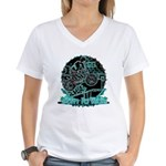 BMX Born to ride Women's V-Neck T-Shirt
