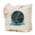 BMX Born to ride Tote Bag