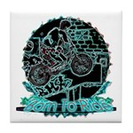 BMX Born to ride Tile Coaster