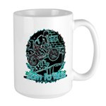 BMX Born to ride Large Mug