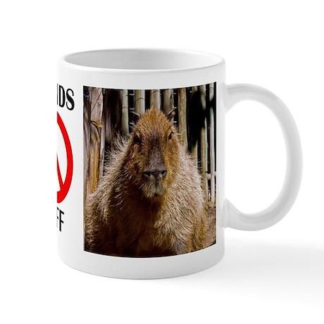 Capybara Staring Mug