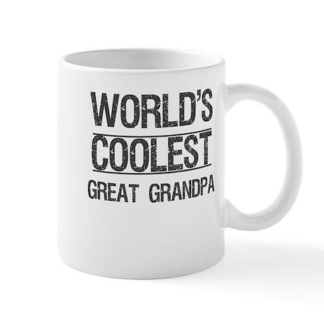 Coolest Great Grandpa Mug