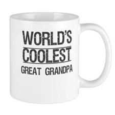 Coolest Great Grandpa Mug