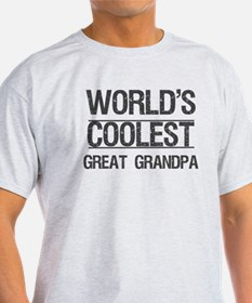 Coolest Great Grandpa T-Shirt