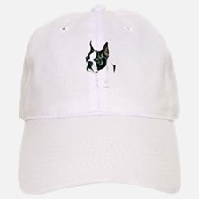 Boston Terrier Portrait Baseball Baseball Cap